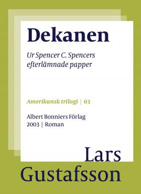 book cover of Dekanen by Lars Gustafsson