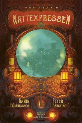 Book Cover of Nattexpressen by Karin Erlandsson & Peter Bergting