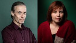 Peter Bergting and Karin Erlandsson