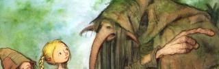 Illustration from Trollskogen